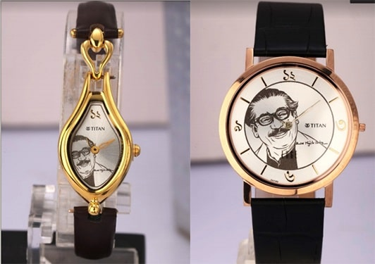 "Special ""Mujib Barsho"" watch released by Indian Mission"