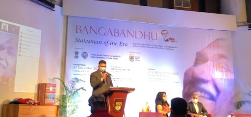 "First Bangladesh, India Joint Celebration To Mark ""Mujib Barsho"" begins"