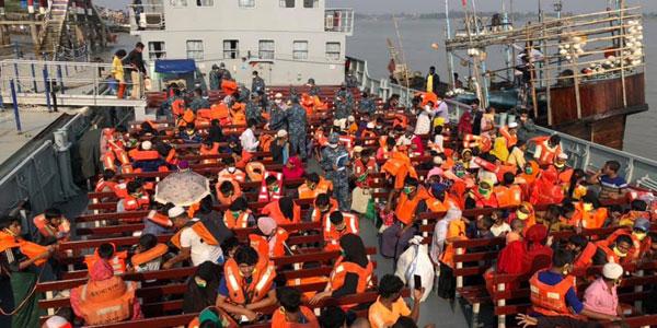 Bangladesh moves more Rohingya to Bashan char island