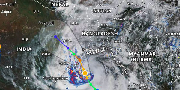 Bangladesh warns maritime ports over cyclone Yaas