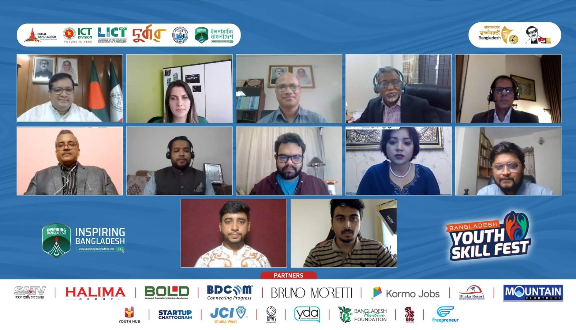 Bangladesh Youth Skills Fest 2021 held