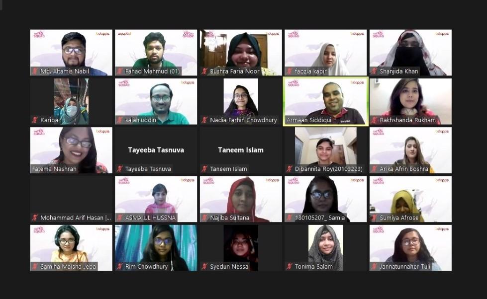 "bdapps launches Women Community Leadership Program ""She Squad"""